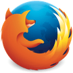 Firefox will ask if you wish to save or play the file.